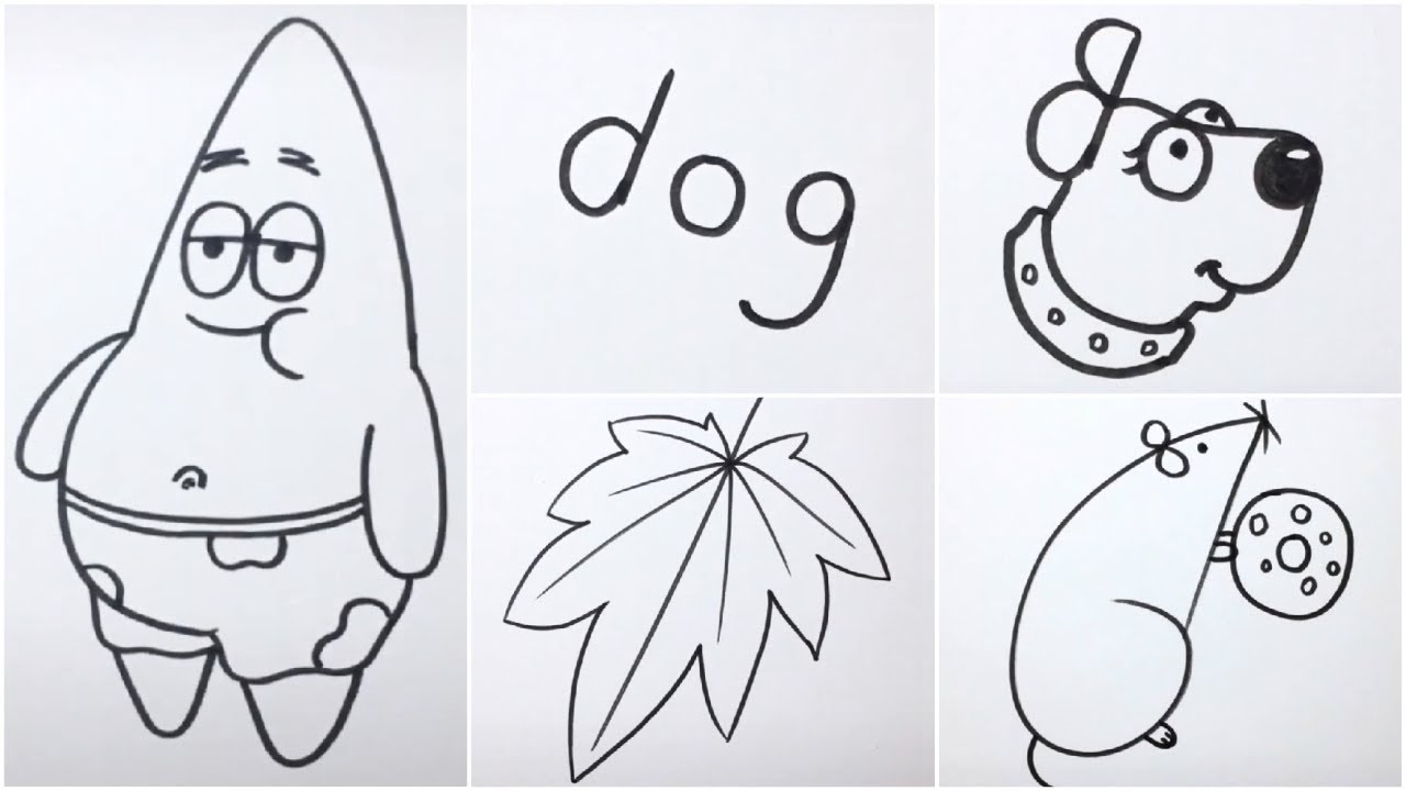 9 Easy Cute Drawing Ideas For Beginners Youtube