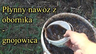 Ogrodowe pierdamony 5 - płynny nawóz z obornika (gnojowica)