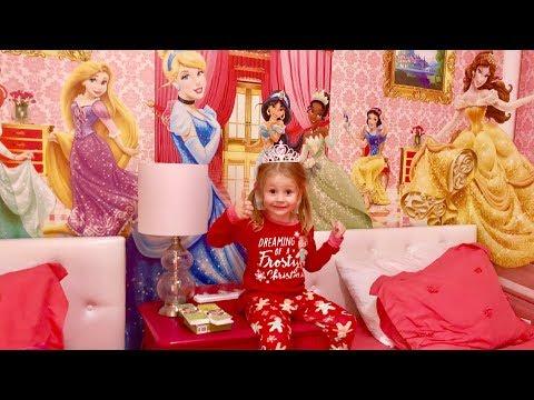 Рум тур дома в Орландо и комната с принцессами