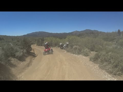 Kyle Eats dirt at Wheeler Pass, NV