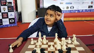 He is just 6 years old but knows the names of all the World Champions from Steinitz to Carlsen!