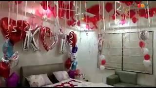 surprise decoration for anniversary | surprise decoration ideas for girlfriend/ boyfriend/ husband