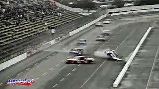 Rick Carelli Big Crash 1995 NASCAR SuperTruck