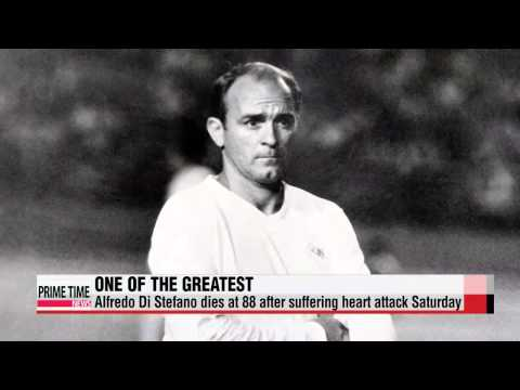World Football: Real Madrid legend Alfredo Di Stefano dies at 88