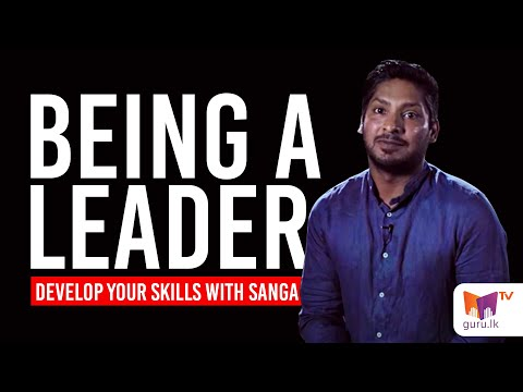 Being a Leader - Lessons from cricket by Kumar Sangakkara