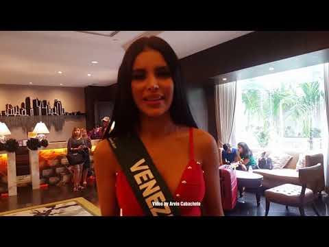 Miss Earth Venezuela 2017 Ninoska Vasquez greetings to all her supporters