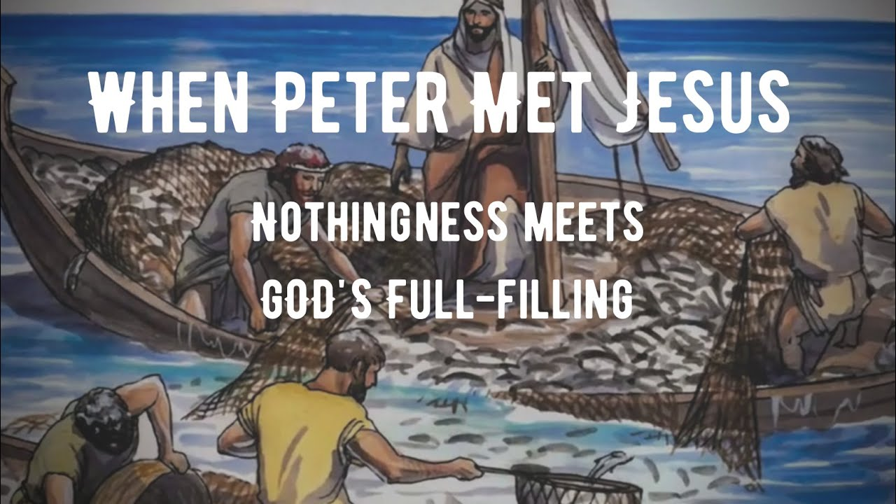 The Peter and Jesus Moment...Will You Say Yes?