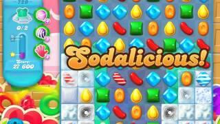Candy Crush Soda Saga Level 729 (3 Stars)