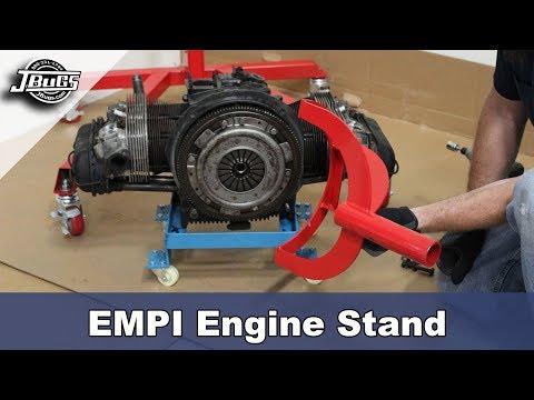 JBugs - Product Spotlight - EMPI Engine Stand Showcase