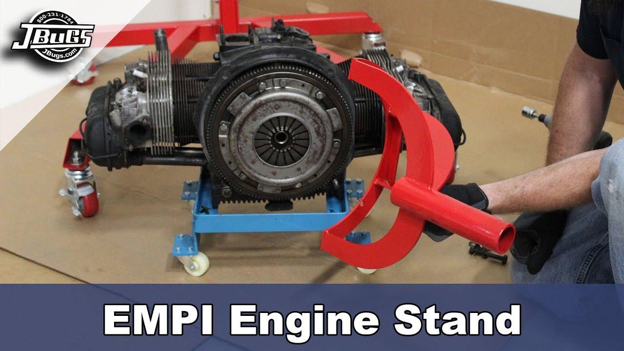 JBugs , Product Spotlight , EMPI Engine Stand Showcase