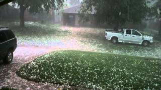 Incredible Dallas/Ft Worth Hail Storm !