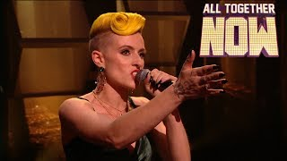 Nicola performs Ella Eyre anthem in front of her vocal coach! | All Together Now Final