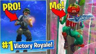 PLAYING FORTNITE WITH THE #1 RANKED PRO SOLO PLAYER!