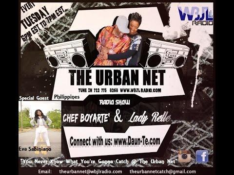 "The Urban Net Radio Show ""Eva Sabiniano (Philippines)"" 8-23-16"