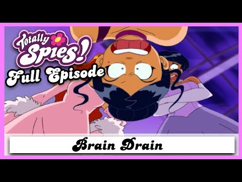 Brain Drain | Series 2, Episode 24 | FULL EPISODE | Totally Spies