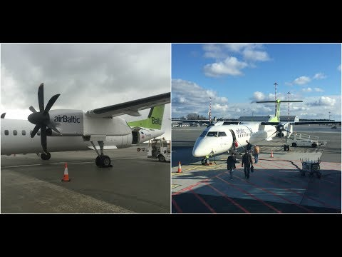 Trip report: Air Baltic Dash 8-Q400 PRG-RIX-OSL, BT482 & BT153