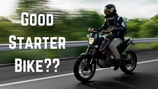 is the ktm duke 690 a good starter bike?
