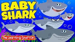 Baby Shark Song ♫ Animal Songs & Camp Songs ♫ Action & Dance Kids Songs by The Learning Station