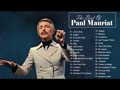 Paul Mauriat Best World Instrumental Hits - Paul Mauriat Greatest Hits Album