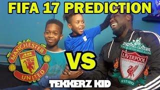Manchester United Vs Liverpool 2017 | FIFA 17 Prediction!!