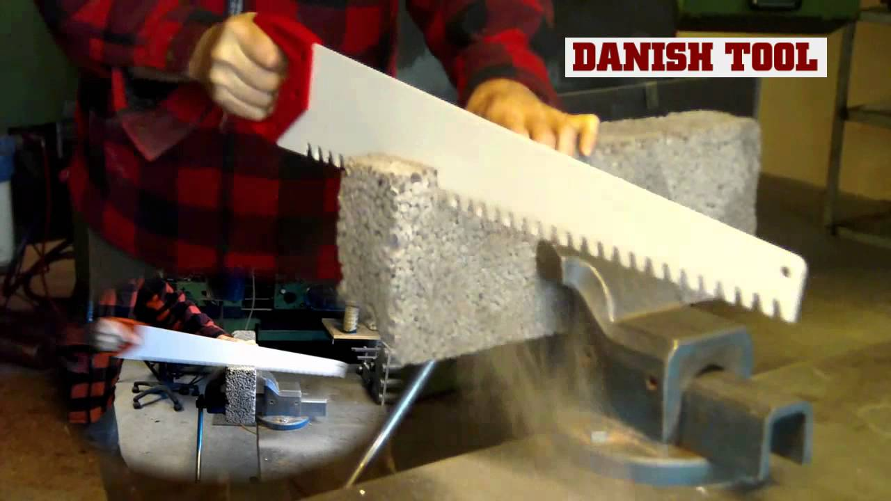 Masonry Handsaw White Label From Danish Tool Youtube