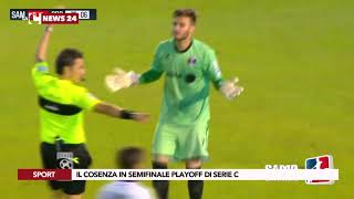 Il Cosenza in semifinale playoff di Serie C