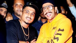 Ranveer Singh's CRAZY Dance With Rapper DIVINE | Bollywood Inside Videos