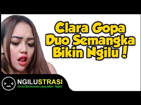 Nggambar Clara Gopa Duo Semangka Terbaru! Mantul Banget!