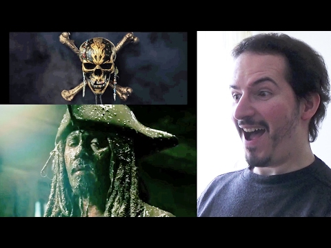 PIRATES OF THE CARIBBEAN: DEAD MEN TELL NO TALES - Superbowl Trailer REACTION & REVIEW