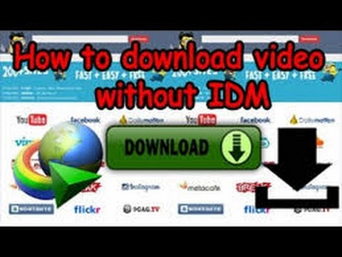 how to download mp4 from youtube with idm