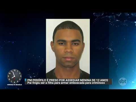 Soldado da PM é preso em flagrante acusado de pedofilia no Paraná | Primeiro Impacto (06/10/17)