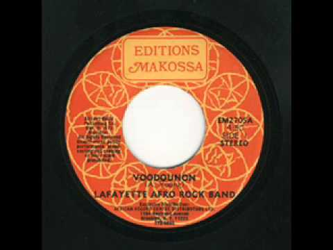 Lafayette Afro Rock Band Voodounon
