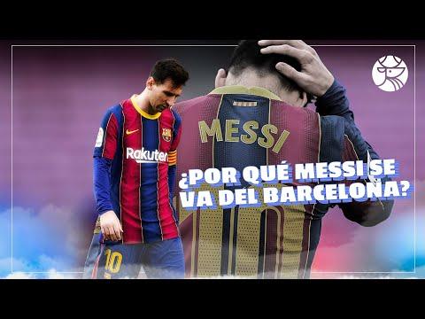 ¿Te lo perdiste? Esto es todo lo que tienes que saber de Messi y su salida del FC Barcelona