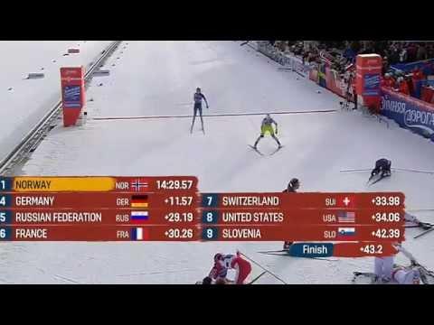 Falun MŚ 2015 - Kowalczyk i Jaśkowiec  - brązowy medal w drużynowym sprincie