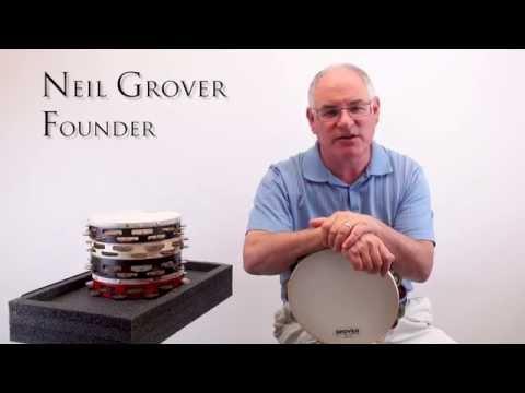 【卓悅水牛樂器】Grover Projection-Plus™系列T1/GS 10吋單排鈴鼓/德國銀片