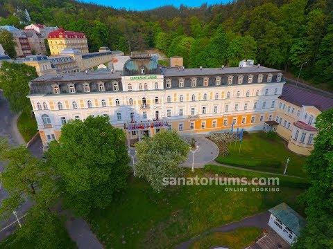 Санаторий Centralni Lazne (Центральные Лазни), курорт Марианские Лазни, Чехия - sanatoriums.com