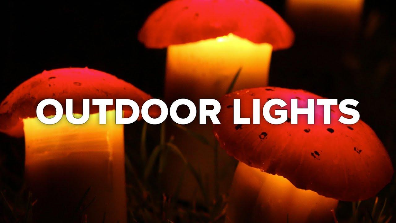 5 creative outdoor lighting ideas youtube 5 creative outdoor lighting ideas aloadofball Images