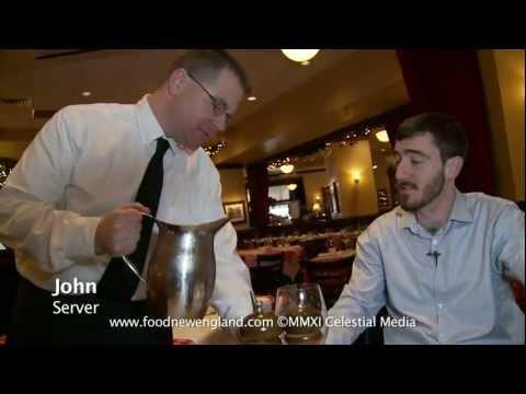 Food New England: Mushroom Ravioli with Chianti