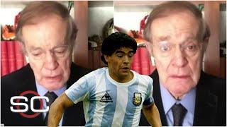 DIEGO MARADONA. José Ramón se QUIEBRA al contar anécdotas del 10 argentino | SportsCenter