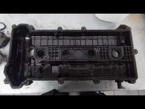 Замена прокладки клапанной крышки mazda6 двигатель LF