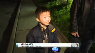 Boy found after amber alert