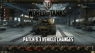 Download lagu World of Tanks Patch 9 3 Vehicle Changes MP3