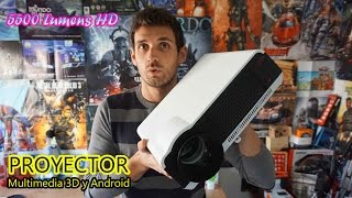 HD LED multimedia projector with 5500 Lumens, Android, 3D and more [Review + Unbox]