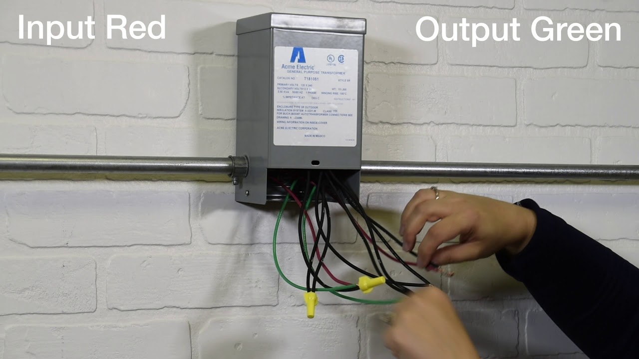 small resolution of hubbell acme electric single phase buck boost wiring demo catalog figure i