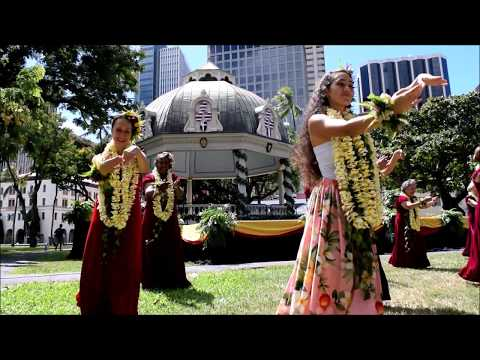 40th Annual Prince Lot Hula Festival at Iolani Palace