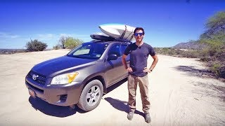 Full Tour Video of My SUV Camping Setup (Vanlife in an SUV)