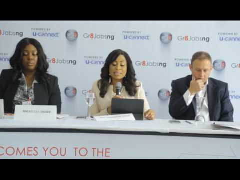 Press Briefing at Gr8jobsng Launch