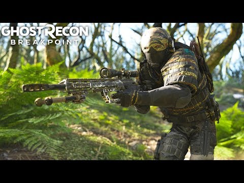 Ghost Recon Breakpoint INTENSE WOLF ATTACK! Ghost Recon Breakpoint Free Roam