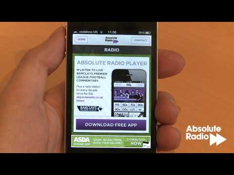 The new Rock 'N' Roll Football Live Scores App from Absolute Radio