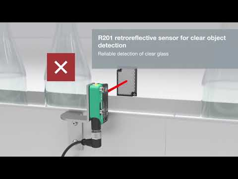R20x Photoelectric Sensors | Applications